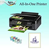 Epson All-In-One Printer with Sponge Free Edible Ink Cartridges / KopyKake Frosting Sheets