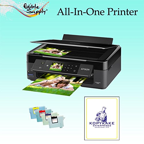 Epson All-In-One Printer with Sponge Free Edible Ink Cartridges / KopyKake Frosting Sheets by Edible Supply (Image #3)