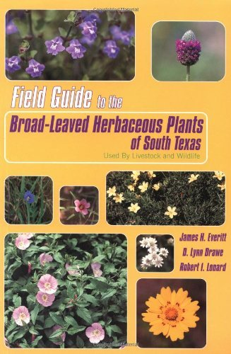Field Guide to the Broad-Leaved Herbaceous Plants of South Texas: Used by Livestock and Wildlife by James H. Everitt (1999-07-15)