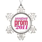 YOBSTF7s Tree Branch Decoration Prom 2011 - Lt. Pink Beautiful Snowflake Ornaments Prom