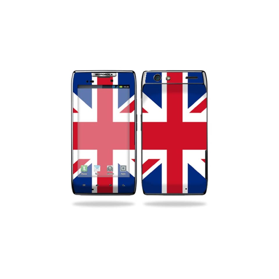 Protective Vinyl Skin Decal Cover for Motorola Droid Razr Maxx Android Smart Cell Phone Sticker Skins   British Pride