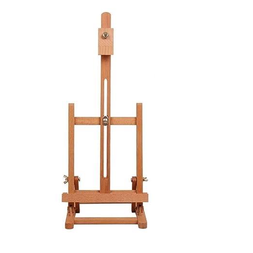 Escritorio de caballete - madera elevación del cartel del ...