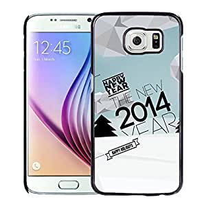 Christmas And New Year Hard Plastic Samsung Galaxy S6 G9200 Protective Phone Case