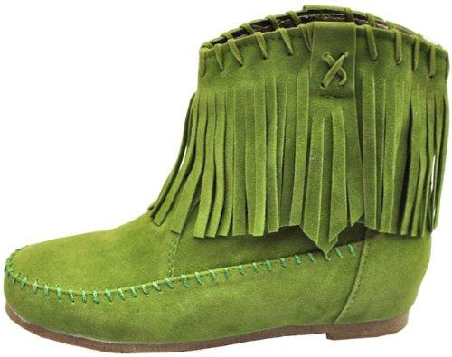 Nappe Bambina Da Scarpe Moda Multi Stivaletti Colori Donna Verde Classiche Classiche XAnCqX