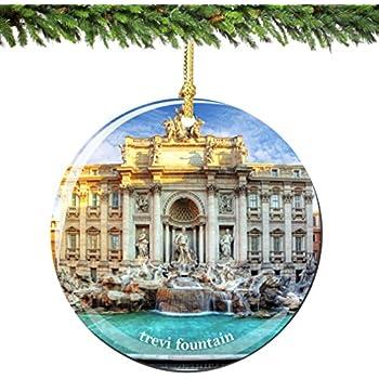 Amazoncom Rome Coliseum Italy Christmas Ornament Porcelain 275