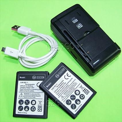 Amazon.com: [LG Escape 2 Batería] 2980 mAh Extended Slim ...