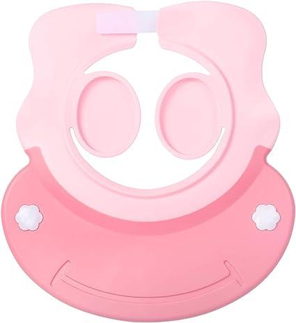 Bébé Enfant Shampooing Réglable Bonnet de Bain Casquette Visière