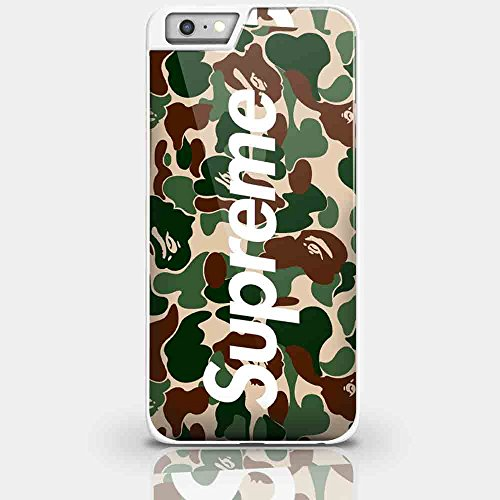 6SCase.com-16693-A Bathing Ape Supreme for Iphone and Samsung Galaxy Case (iPhone 6 plus white)-B01DY90TPO