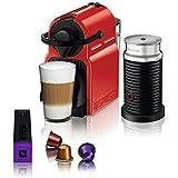 Nespresso Combo Inissia, Máquina de Café com Aeroccino, 110V, Vermelho