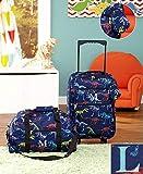 3-Pc. Boys' Monogram Luggage Set L