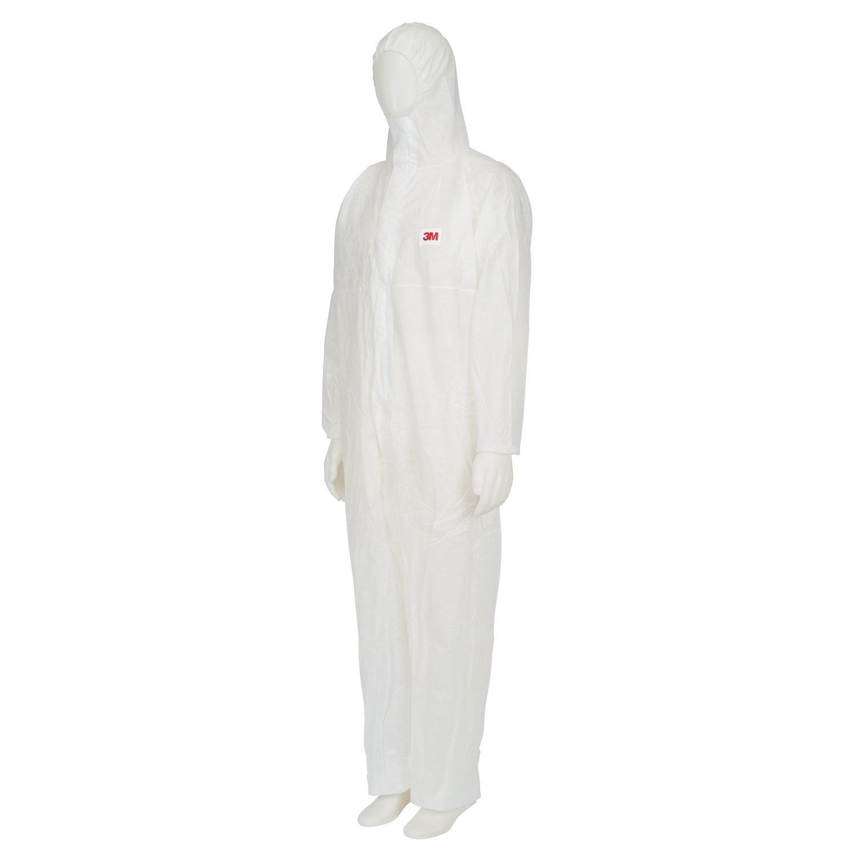 taglia XL I cat Bianco 3M/™ 4500 Indumento di protezione tipo CE Polipropilene 45g//mq