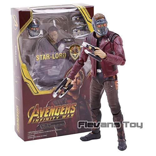 WEKIPP Captain America Doctor Strange Ant Man PVC Action Figure Toys -Multicolor Complete Series Merchandise