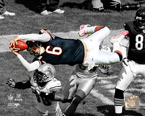 Jay Cutler Chicago Bears Spotlight Action Photo (Size: 20
