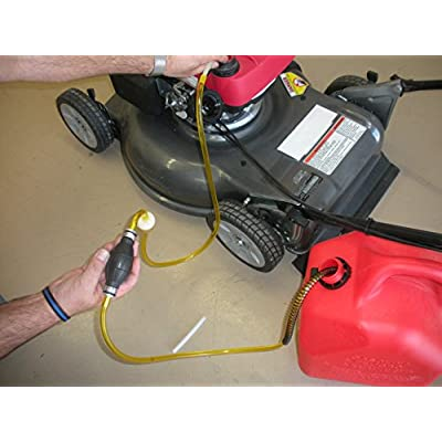 GasTapper G.T Power Equipment Fluid Extractor Pump for Gas, Oil, Water, Anti-Freeze Great on Lawnmowers, Power Equipment, Motorcycles - USA Assembly & Hose - Click at top of This Page for Full Store: Automotive