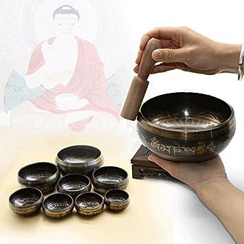Yoga tibetano Cuenco Tibetano Meditación Cuenco Tibetano ...