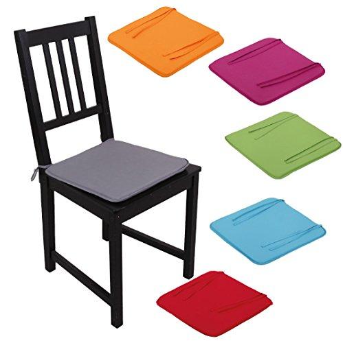 Stuhlkissen-Stuhlauflage-Sitzkissen-Microfaser