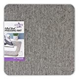 """Best Iron For Quilters - Gypsy Quilter Felted Wool Pressing Mat 13.5""""x13.5""""x0.5"""", Made Review"""