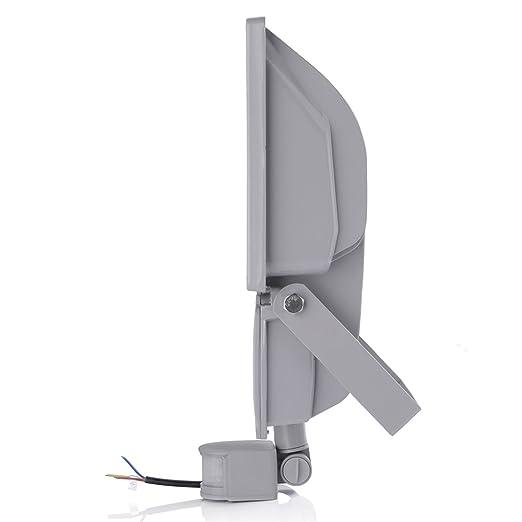 100 W LED Proyector luz Foco + detector de movimiento, luz blanca ...