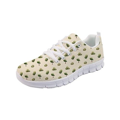 Woisttop Zapatillas de Running para Mujer Zapatillas de