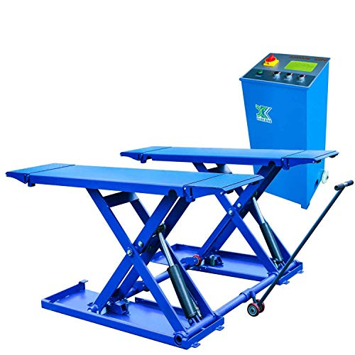 XK USA 6600 lb. Automotive Mid Rise Scissor Automotive Auto Car Lift 220V / 12 Month Warranty ()