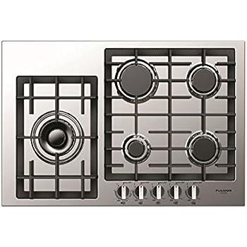 Amazon.com: Fulgor Milano f4gk301 30 inch Amplia Cooktop de ...