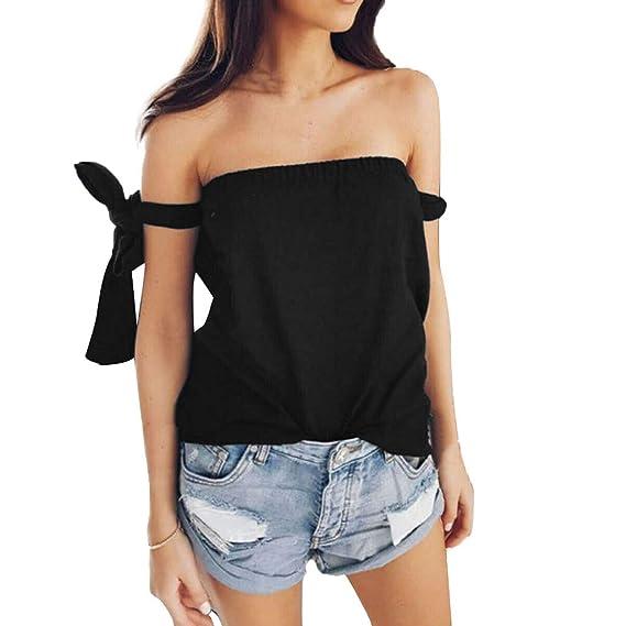 Blusa Casual de Verano para Mujer, cómoda y favorecedora, de Moda ...