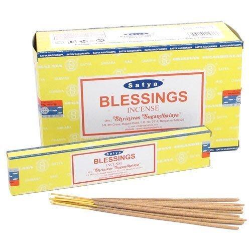 Satya Nag Champa Blessings Incense Sticks - Box 12 Packs