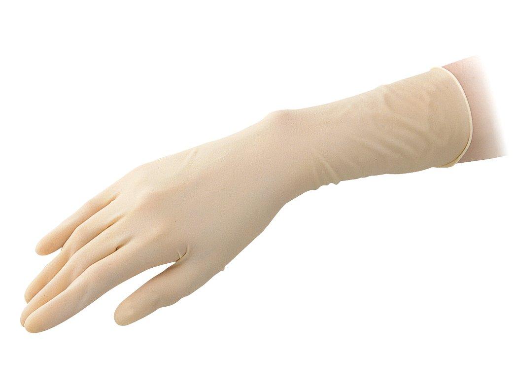 アズピュア アズピュア ラテックス手袋 II厚手 ピュアパック ハイグリップタイプ 指先エンボス M 1000枚/1-3911-52 B01LPFXOF6 M M