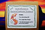 Yeast Infection/ Bacterial vaginosis Treatment Kit- Herbal Oil/ Apple Cider Vinegar/ B.V. and Y.I. Instructional pamplet