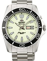 Orient #EM75005R Men's Stainless Steel Luminous Dial Mako XL 200M Automatic Diver Watch