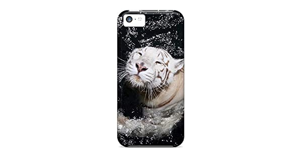 Amazon.com: Excellent Design White Tiger Swimming Phone Case ...