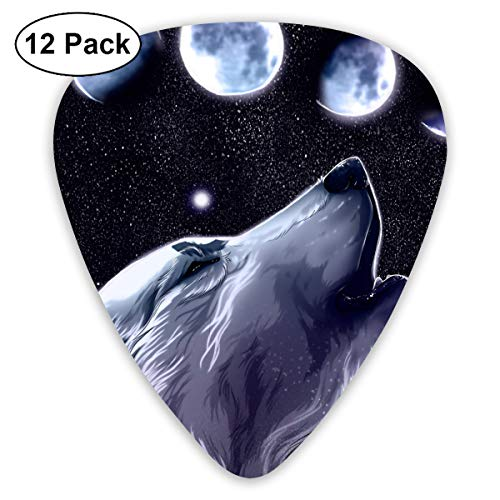 V5DGFJH.B The Wolf Cried for Full Moon Classic Guitar Pick Player's Pack for Electric Guitar,Acoustic Guitar,Mandolin,Guitar -
