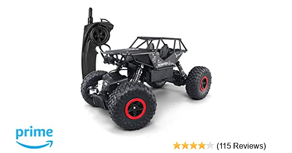 Amazon Com Szjjx Rc Cars Off Road Rock Crawler Truck Vehicle 2 4ghz
