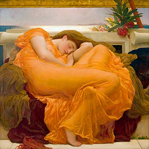 Flaming June by Frederic Leighton 35