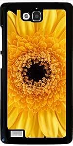 Funda para Huawei Honor 3C - Gerbera Amarillo by Carsten Reisinger