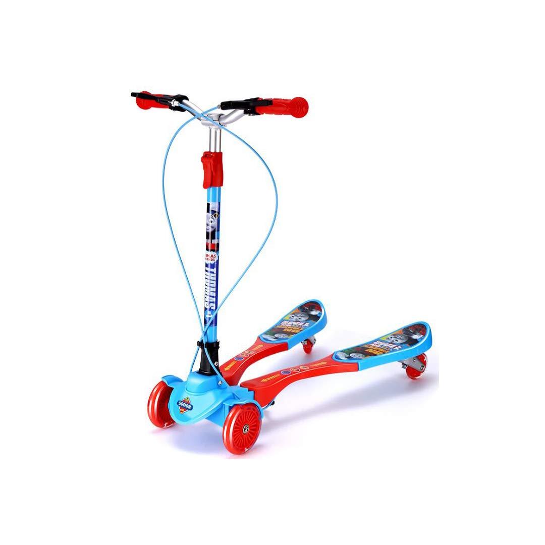 高い品質 TLMYDD TLMYDD 子供のスクーター四輪カエル車3-12歳児赤ちゃんはさみ車男の子足ヨーヨー車25×79×73センチ B07NMH5M8Y 子供スクーター B07NMH5M8Y, かごしまけん:b869d906 --- a0267596.xsph.ru