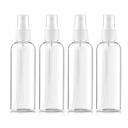 Beito - Juego de 4 botellas de spray reutilizables de ...