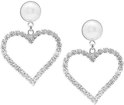 boucle d'oreille saint valentin en forme de coeur