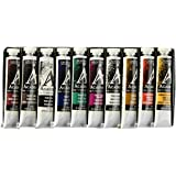 Grumbacher Academy Oil Paint,  24ml/0.81 oz Tube, 10-Color Set