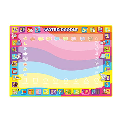 (Sunlake toys Modeling Clay Air Dry Ultra Light Molding Magic Clay 24 Colors, Best Kids Gifts Ever- Children Education Magic Water Doodle Painting Writing Mat Board Toy 100x70cm)