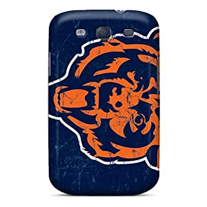 Samsung Galaxy S3 Nur2281pzgQ Customized High-definition Chicago Bears Series Shock Absorbent Hard Phone Cover -ErleneRobinson
