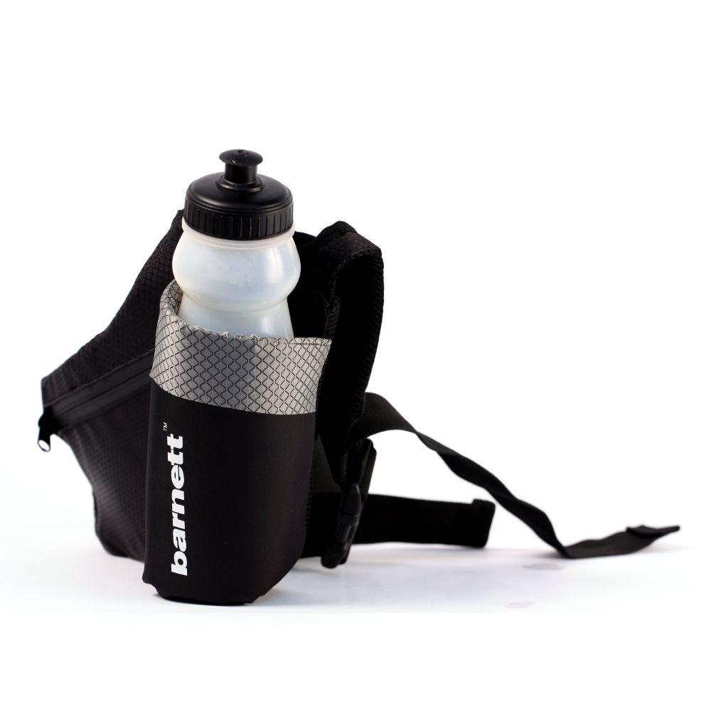BACKPACK-04 Multifunction sport bottle waist bag, Bottle belt, Drinkbelt, Black, Porte bidon, barnett BACKPACK-05