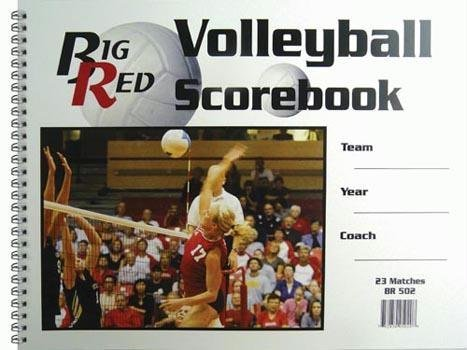 Olympia Sports BK029P 9.25 in. x 12 in. Volleyball Scorebook