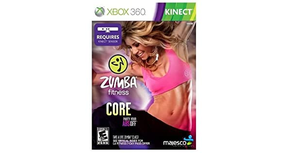 Amazon zumba fitness core xbox majesco sales inc