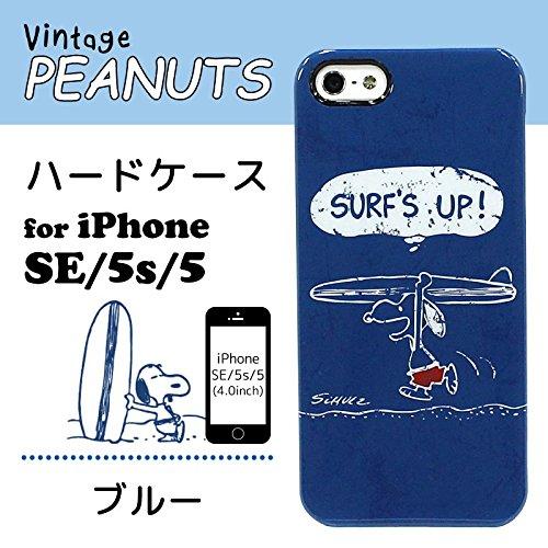 Vintage Snoopy Peanuts (Peanuts Snoopy Soft TPU Vintage Case for iPhone SE/5s/5 (Blue))