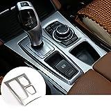 Interior Car Gear Box Panel Cover Trim For BMW X5 E70 2010-2013 X6 E71 2010-2014
