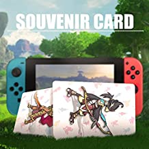 NFC Game Cards for the Legend of Zelda Breath of the Wild Switch/Wii U - Pedestrians 22pcs Standard Cards with Cards Holder