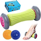 Foot Roller Massage Ball for Relief Plantar Fasciitis and Reflexology Massager for Deep