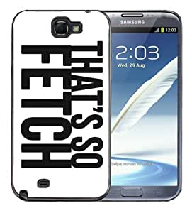 For SamSung Galaxy S5 Case Cover Black -Thats So Fetch Mean Girls Regina George