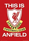 """GB eye """"Liverpool, This is Anfield"""" Maxi Poster, Multi-Colour, 61 x 91.5 cm"""